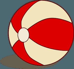 Beach ball clipart