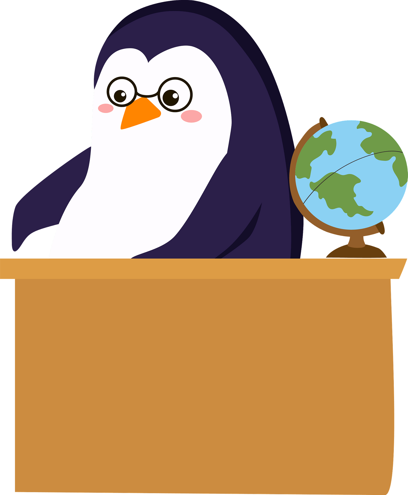 Penguin Teacher Clipart Free Download Transparent Png Creazilla