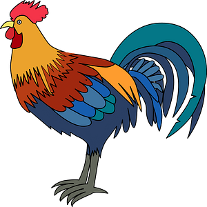 Rooster immagine clipart