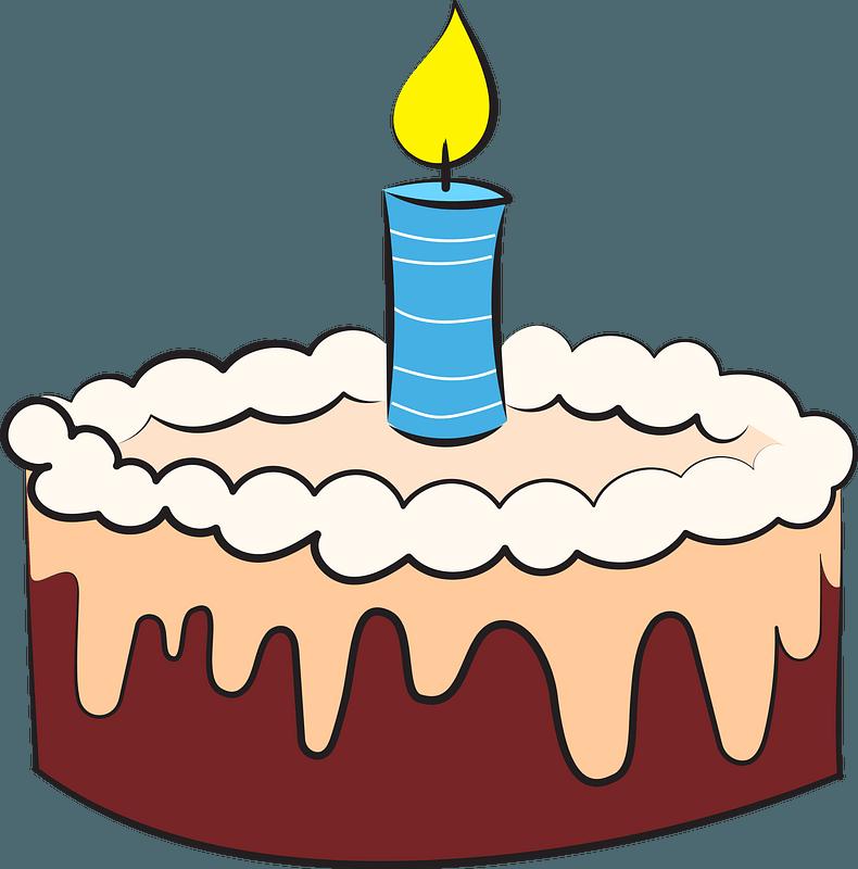 Birthday cake immagine clipart
