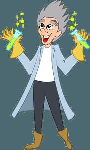 Evil Scientist clipart