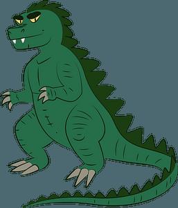 Godzilla clipart