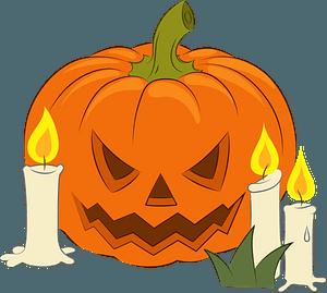 Jack-o-lantern clipart