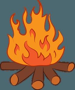 Bonfire immagine clipart