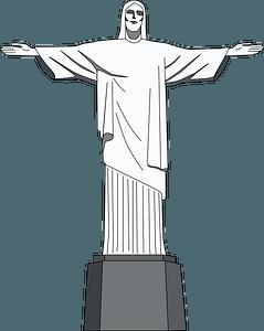 Christ the Redeemer clipart
