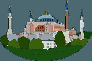 Hagia Sophia clipart