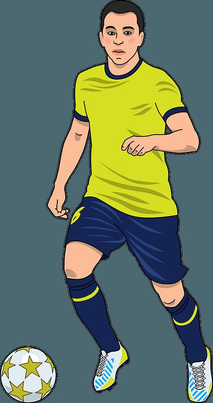 Football (soccer) clipart