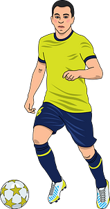 Football (soccer) clipart