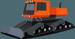 Snowcat clipart