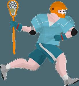 Lacrosse clipart