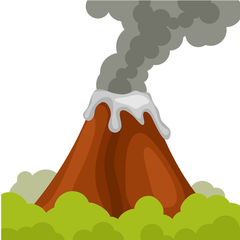 Clipart Volcano Pompeii | Free Images at Clker.com - vector clip art  online, royalty free & public domain