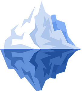 Iceberg clipart