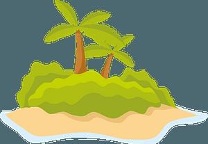 Lone island clipart