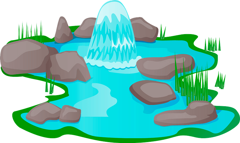 Pond Clip Art
