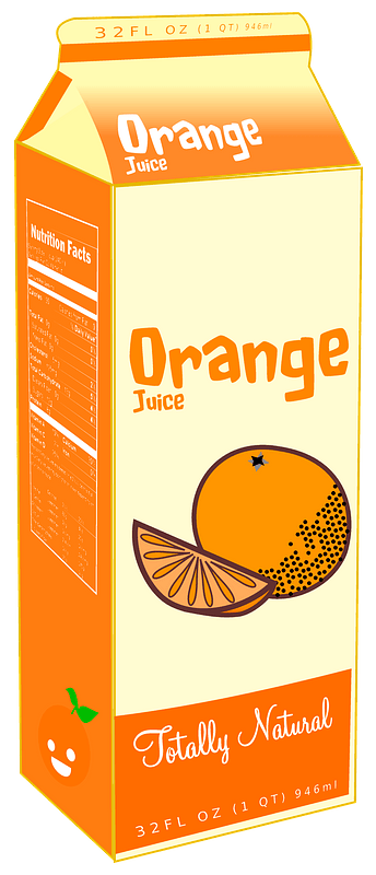 Carton of orange juice clipart. Free download transparent ...