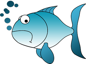 Cartoon fish clipart