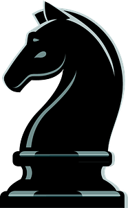 Chess knight clipart