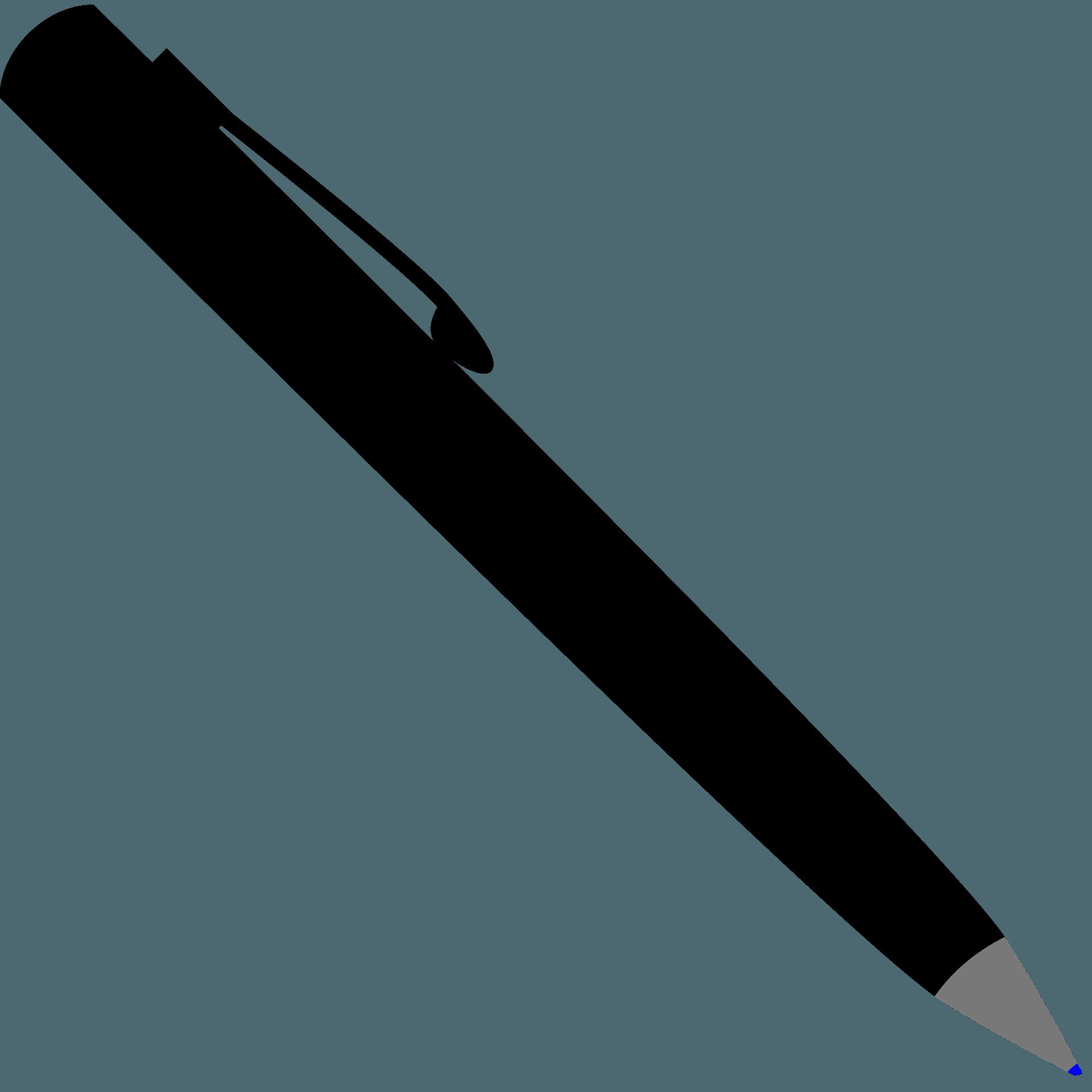 Black Pen Clipart Free Download Transparent Png Creazilla