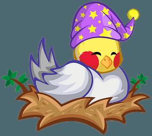 Bird in The Nest clipart