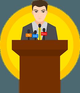 Politician clipart