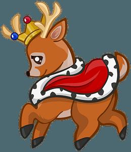 Royal Deer clipart