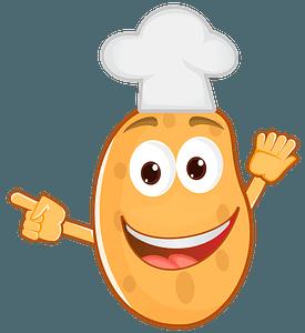 Potato chef clipart