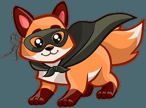 Zorro Fox clipart