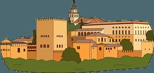 Alhambra clipart