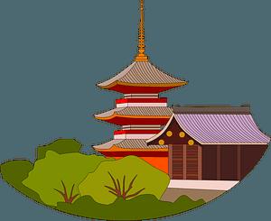 Kiyomizu-dera clipart