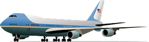 Air Force One clipart