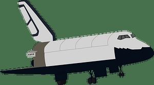 Buran Spacecraft clipart