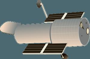 Hubble telescope clipart