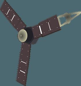 Juno spacecraft clipart