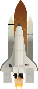 Space Shuttle Columbia clipart