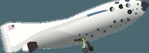 SpaceShipOne clipart
