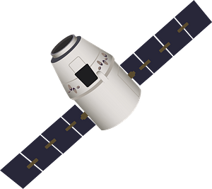 SpaceX Dragon clipart