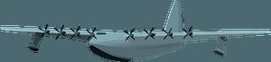 Hughes H-4 Hercules clipart