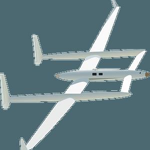 Voyager Burt Rutan clipart