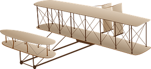 Wright Flyer clipart