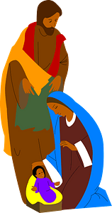 Holy Family clipart