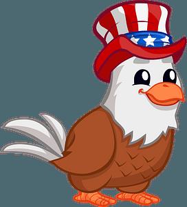American Eagle clipart