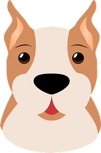 Boxer puppy clipart