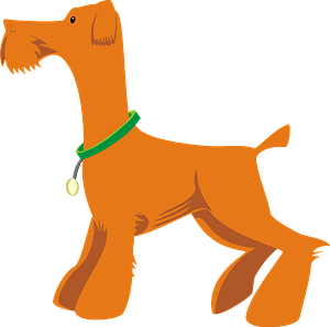 Airedale Terrier clipart