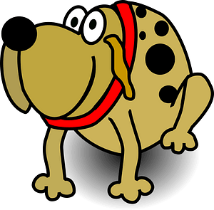 Funny Dog clipart