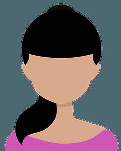Girl avatar clipart