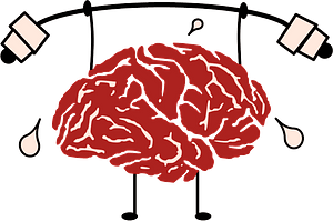 Brain training clipart