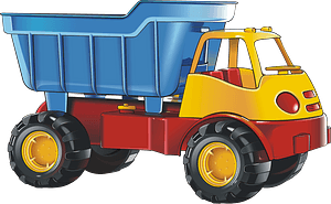 Toy truck clipart