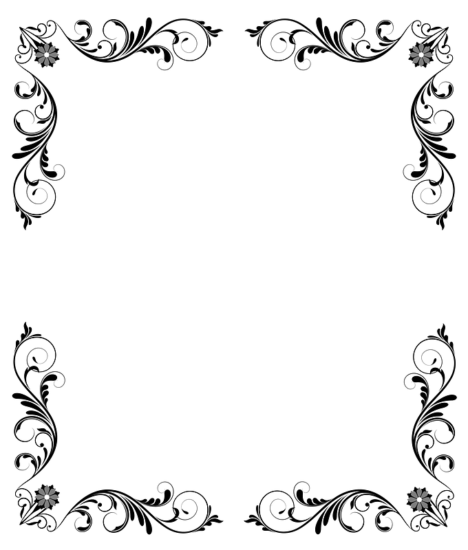 6 Antique Baroque Frame Clipart! | Victorian frame, Frame clipart, Clipart  frames free