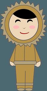 Inuit Girl clipart