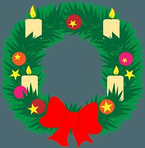 Advent wreath immagine clipart